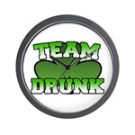 Team Drunk Wall Clock