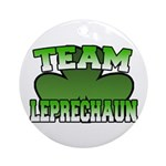 Team Leprechaun Ornament (Round)