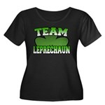 Team Leprechaun Women's Plus Size Scoop Neck Dark