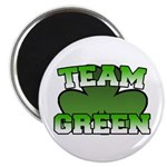 "Team Green 2.25"" Magnet (10 pack)"