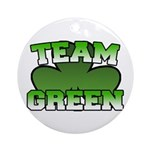 Team Green Ornament (Round)
