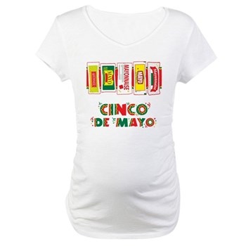 cinco de mayo pictures to color. Cinco De Mayo Maternity T-