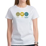 Peace Love Occupational Therapy Women's T-Shirt