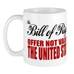 Bill of Rights (Not Valid) Mug