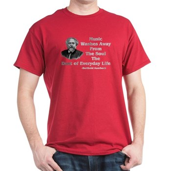 Music Cleanses Shirt--Auerbach Quote