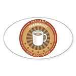 Instant Pharmacist Oval Sticker (50 pk)