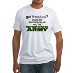 U.S. Army (Brother-In-Law) Fitted T-Shirt