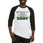 U.S. Army (Brother-In-Law) Baseball Jersey