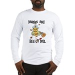 Nurses Are Bee-utiful Long Sleeve T-Shirt