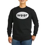 Woof Paws Long Sleeve Dark T-Shirt