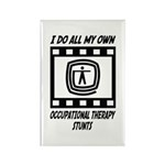 Occupational Therapy Stunts Rectangle Magnet (10 p