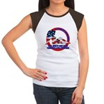 All American Woman Women's Cap Sleeve T-Shirt