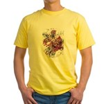 """Blood on the Cross"" Yellow T-Shirt"