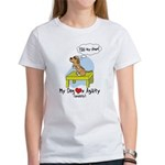 Refusing Down Agility Women's T Shirt (Humor)