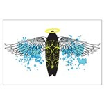 """Surf Angel: Tribe"" Large Poster"