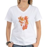 """Sonrise"" Women's V-Neck T-Shirt"
