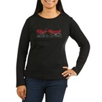 Give Blood Date a Cullen Women's Long Sleeve Dark