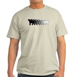 Gradient Labradors Light T-Shirt
