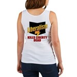 Conservative Anti Liberal Women's Tank Top