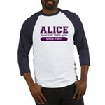 Alice, Quirkier Than You. Baseball Jersey