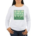 Twilight Forks Women's Long Sleeve T-Shirt