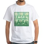 Twilight Forks White T-Shirt