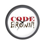Code Brown! Wall Clock