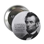 """President Abraham Lincoln 2.25"""" Button (100 pack)"""