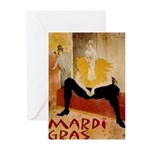 Mardi Gras Greeting Cards (Pk of 10)