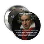 """Classical Music: Beethoven 2.25"""" Button (100 pack)"""
