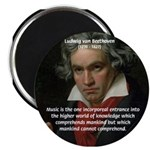 """Classical Music: Beethoven 2.25"""" Magnet (100 pack)"""