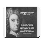 Irish Idealist: George Berkeley Mousepad