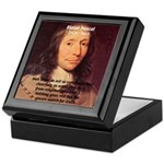 Mathematician: Blaise Pascal Keepsake Box