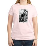 Mathematics: Blaise Pascal Women's Pink T-Shirt