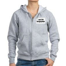 i am the boogeyman Womens Zip Hoodie