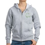 Do It Froggy Style Women's Zip Hoodie