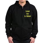 Large And In Charge Zip Hoodie (dark)