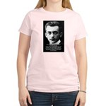 Philosopher / Scientist: Max Born Women's Pink T-S