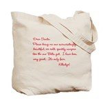 Twilight Edward Christmas Tote Bag