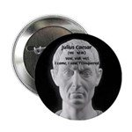 Great Roman: Julius Caesar Button