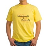 Irrevocably In Love Twilight Yellow T-Shirt