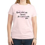 Edward Heart Twilight Women's Light T-Shirt