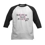 Edward Heart Twilight Kids Baseball Jersey