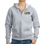 Error Loading America (RKBA) Women's Zip Hoodie