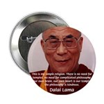 His Holiness the Dalai Lama Button