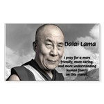The 14th Dalai Lama Rectangle Sticker