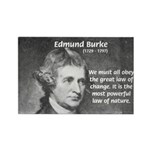 Edmund Burke Rectangle Magnet (100 pack)