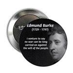 "Politics: Edmund Burke 2.25"" Button (10 pack)"