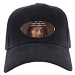 Philosopher Rene Descartes Black Cap