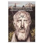 Stoic Philosophy: Zeno Large Poster